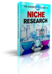The Insiders Guide To Niche Research - PLR