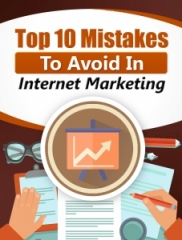 Top 10 Mistakes To Avoid In Internet Marketing - PLR