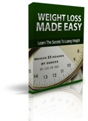 Weight Loss Made Easy - PLR